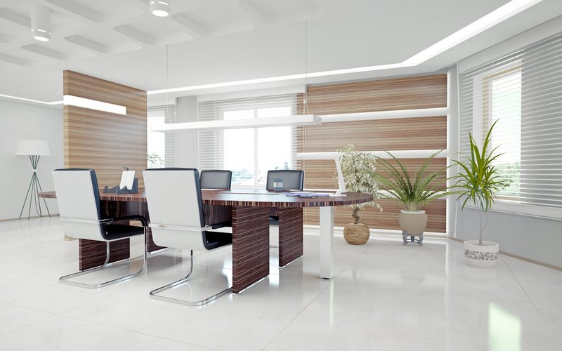 modern office interior. design concept